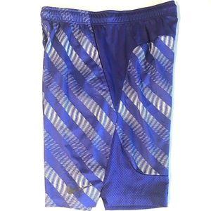 Nike Dri Fit Basketball Shorts Poly/Mesh Blend